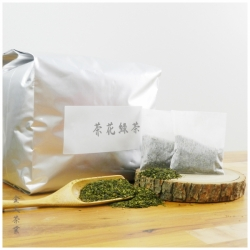 茶花綠茶、萃茶包、鮮茶道、大島茶花綠茶、萃茶機、萃茶包、鮮萃茶